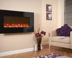 Electriflame Black Glass Celsi