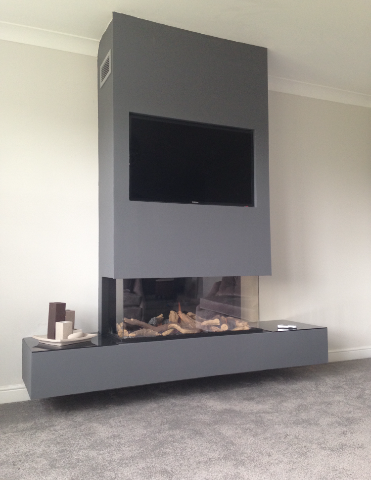 False Chimney Breast Installations - The Fireplace Studio ...